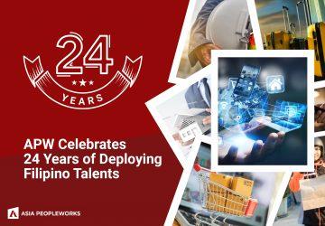 APW Celebrates 24 Years of Deploying Filipino Talents